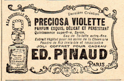 geschiedenis parfum