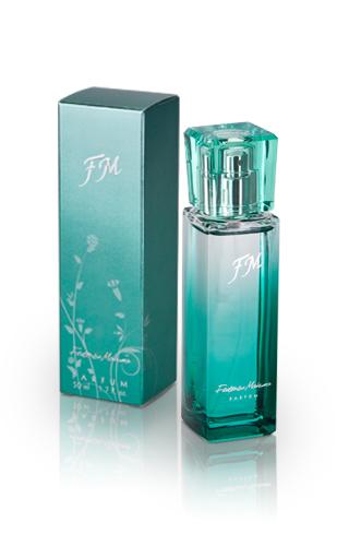 groene parfum flacon