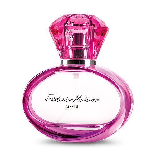 roze parfum flacon